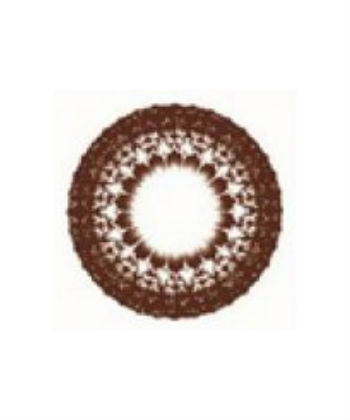 DUEBA LACE CHOCO BROWN CONTACT LENS
