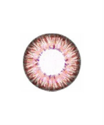 DUEBA TINY PUFFY PINK CONTACT LENS