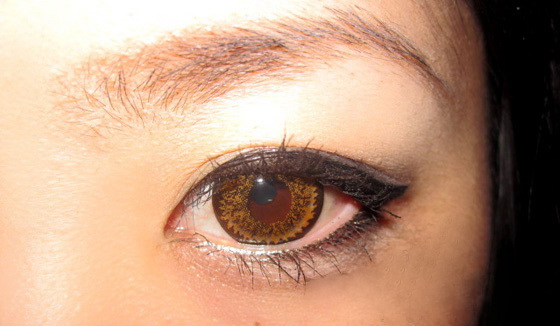 DUEBA SUPER NUDY BROWN CONTACT LENS