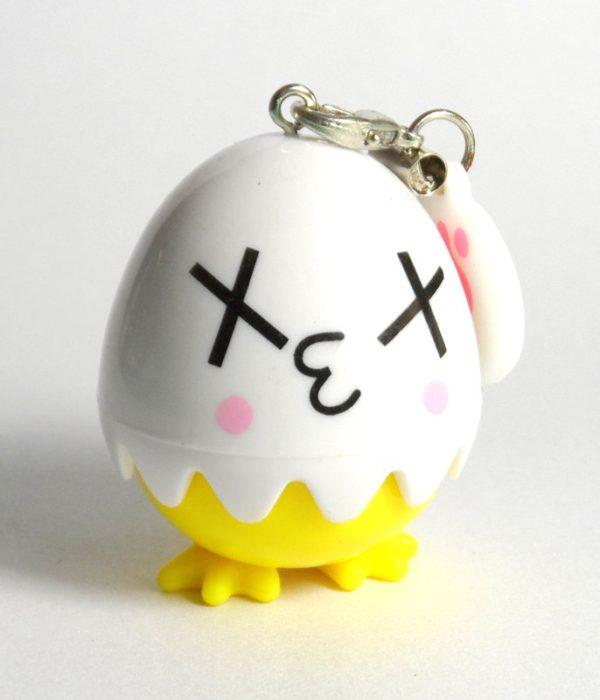 Egg Contact Lens Case Moody Face