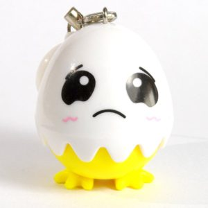 Egg Contact Lens Case Sad Face