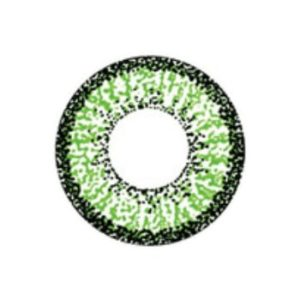 GEO COLOR NINE GREEN AN-A43 OLIVE GREEN CONTACT LENS