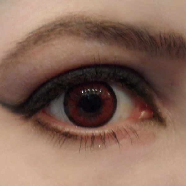 GEO COLOR NINE RED WINE AN-A47 RED WINE CONTACT LENS