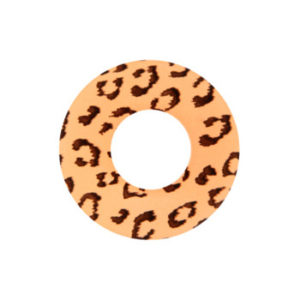 GEO SF-63 CRAZY LENS LEOPARD BROWN HALLOWEEN CONTACT LENS