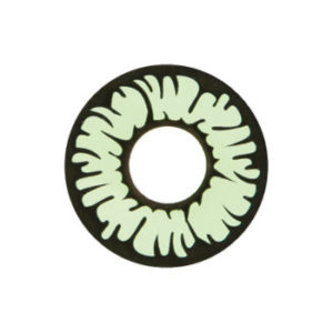 GEO SF-17 CRAZY LENS GREEN INCREDIBLE HULK HALLOWEEN CONTACT LENS