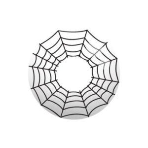 GEO SF-50 CRAZY LENS COBWEB HALLOWEEN CONTACT LENS