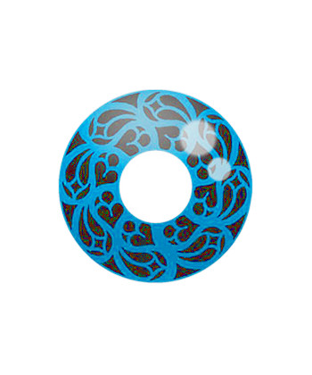 GEO SF-58 CRAZY LENS BLUE LOVE CATHEDRAL HALLOWEEN CONTACT LENS