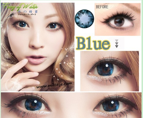 GEO FAIRY OF WATER BLUE WH-A52 BLUE CONTACT LENS