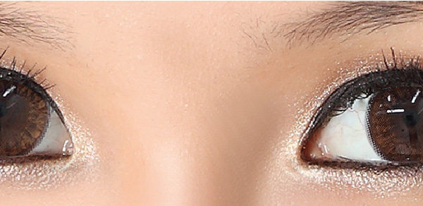 GEO GRANG GRANG CHOCO BROWN HC-246 BROWN CONTACT LENS