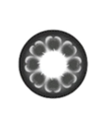 GEO MAGIC COLOR BLACK IM-114 BLACK CONTACT LENSES