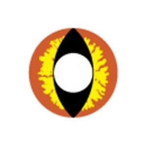 GEO SF-82 CRAZY LENS DRAGON EYES HALLOWEEN CONTACT LENS