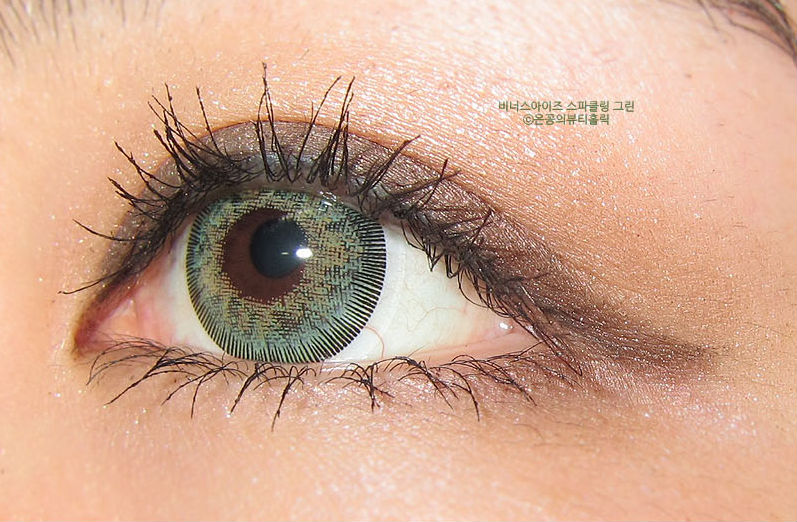 GEO SPARKLING GREEN AN-A53 GREEN CONTACT LENS