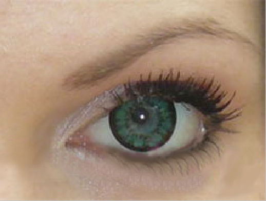GEO SUPER ANGEL GREEN XCM-213 GREEN CONTACT LENS