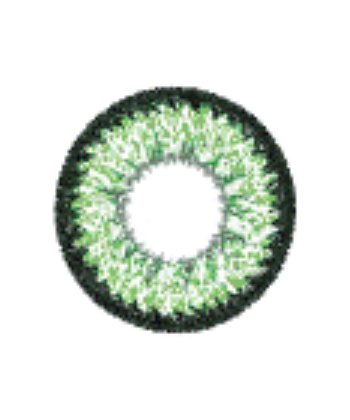 GEO SUPER NUDY GREEN XCH-623 GREEN CONTACT LENS