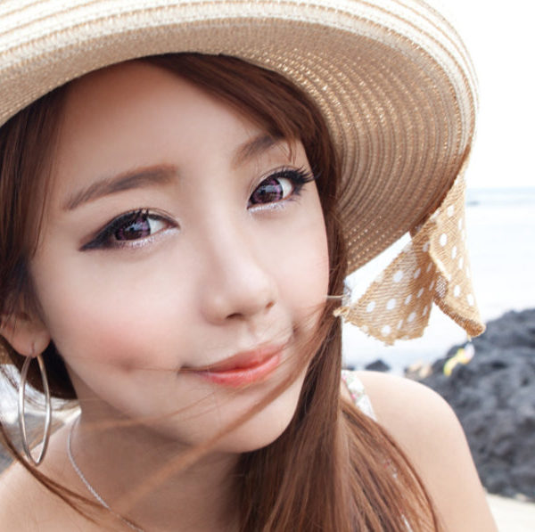 GEO SUPER ANGEL PINK XCM-217 PINK CONTACT LENS