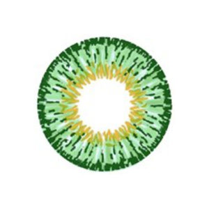 GEO TWINS GREEN YH-303 GREEN CONTACT LENS