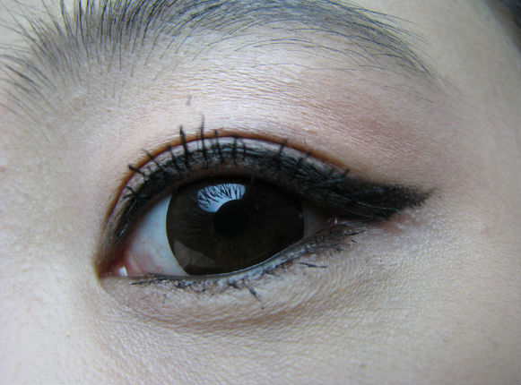 GEO WBC-104 SMOKEY CARAMEL BROWN COLORED CONTACT LENSES, THE BEST NATURAL LENSES