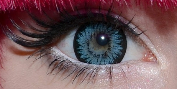 GEO XTRA ASTER WT-C12 BLUE CONTACT LENS