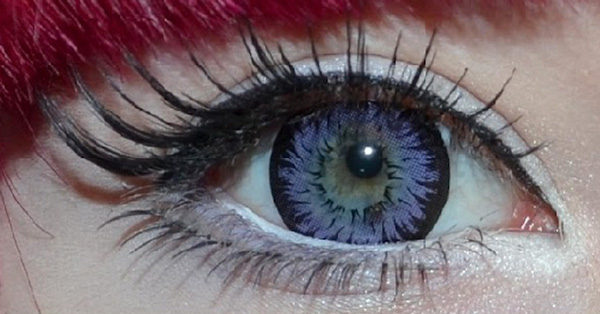GEO XTRA ASTER WT-C11 VIOLET CONTACT LENS