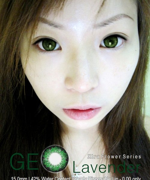 GEO LAVENDER GREEN WFL-A53 GREEN CONTACT LENS