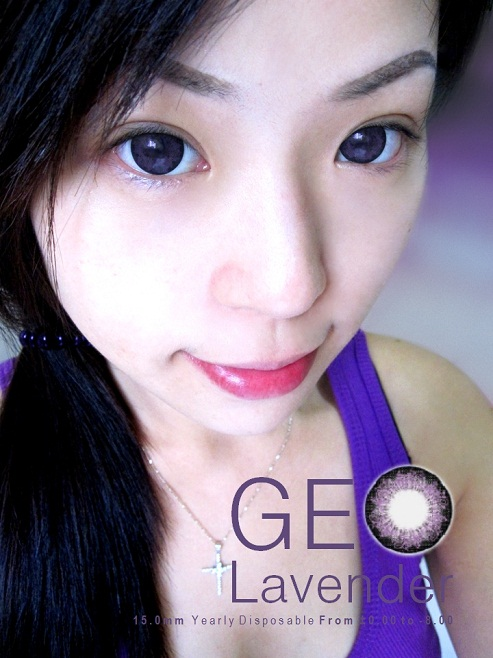 GEO LAVENDER VIOLET WFL-A51 VIOLET CONTACT LENS