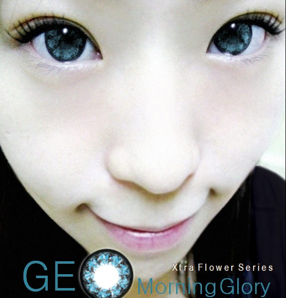 GEO MORNING GLORY BLUE WFL-A32 BLUE CONTACT LENS