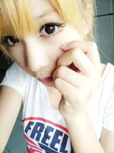 GEO FOREST BLACK WT-B60 BLACK CONTACT LENS