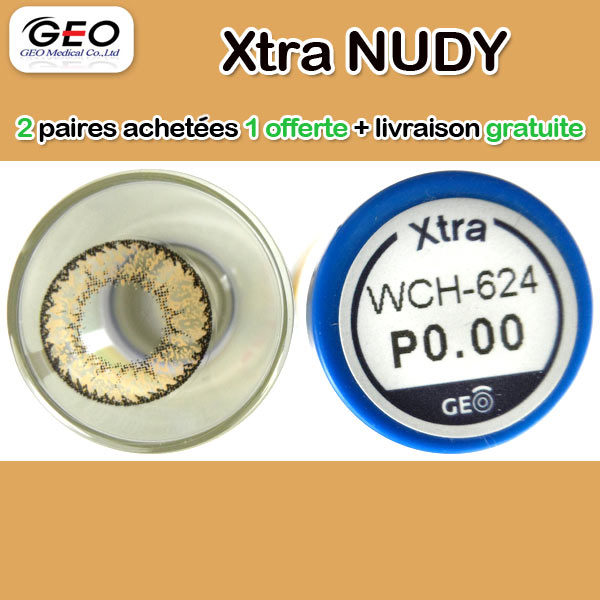 GEO XTRA NUDY WCH-624 BROWN CONTACT LENS