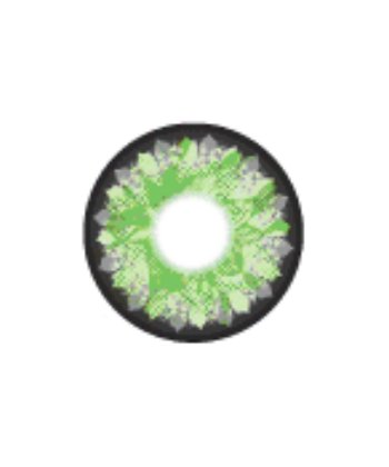 GEO LOTUS GREEN WFL-A13 GREEN CONTACT LENS