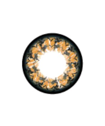 GEO MORNING GLORY BROWN WFL-A34 BROWN CONTACT LENS