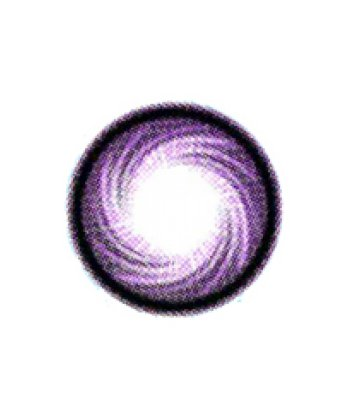 GEO HURRICANE SWIRL VIOLET HC-101 VIOLET CONTACT LENS