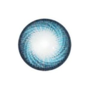 GEO HURRICANE SWIRL BLUE HC-102 BLUE CONTACT LENS