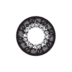 GEO CAFE CAPPUCCINO GRAY WMM-500 GRAY CONTACT LENS