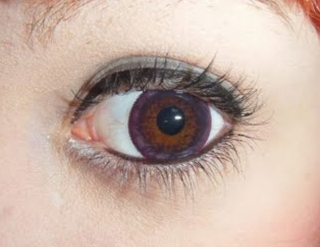 GEO CAFE CAPPUCCINO RED WINE VIOLET WMM-700 VIOLET CONTACT LENS