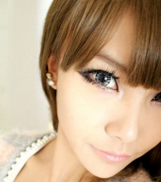 GEO FOREST GRAY WT-B65 GRAY CONTACT LENS