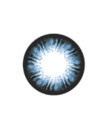 GEO BLANKET BLUE WFL-A72 BLUE CONTACT LENS