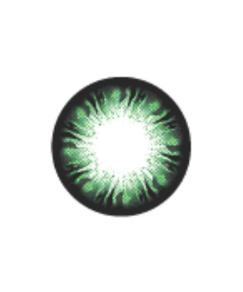 GEO BLANKET GREEN WFL-A73 GREEN CONTACT LENS
