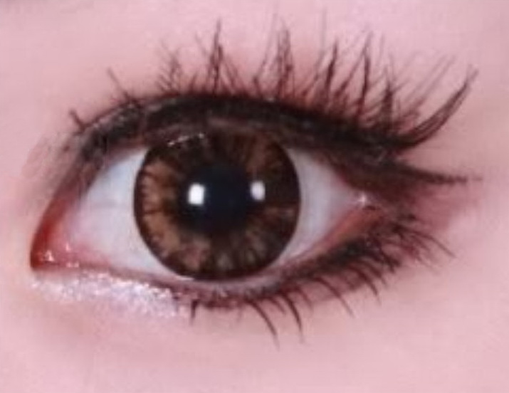 GEO FOREST BROWN WT-B64 BROWN CONTACT LENS