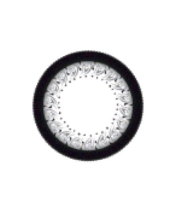 GEO LACE GRAY W4U-245 GRAY CONTACT LENS