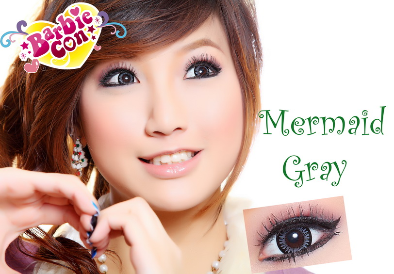 GEO PUFFY MELON GRAY WT-B25 GRAY CONTACT LENS
