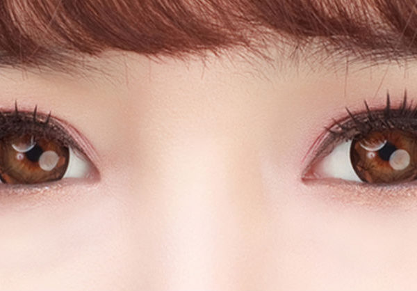 GEO AMOR RIBBON BROWN WT-B94 BROWN CONTACT LENS