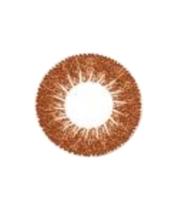 GEOLICA CIRCLE BROWN GO-A14 CHOCO BROWN CONTACT LENS