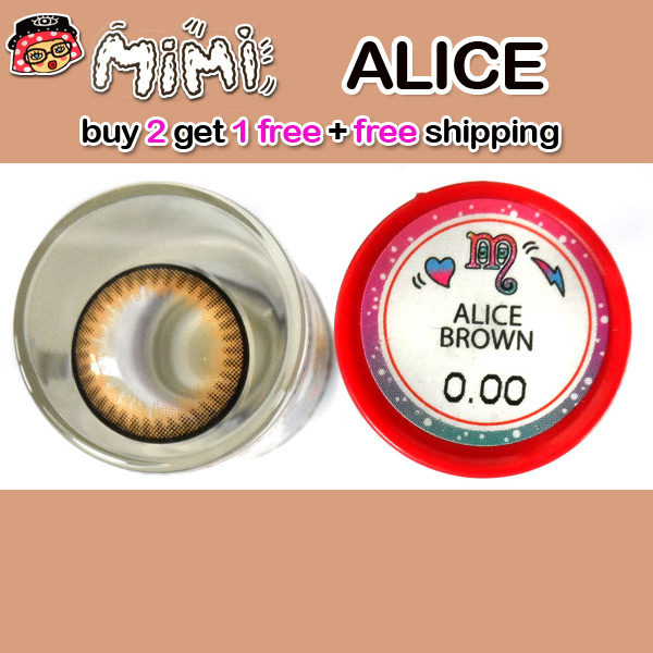 MIMI ALICE BROWN CONTACT LENS