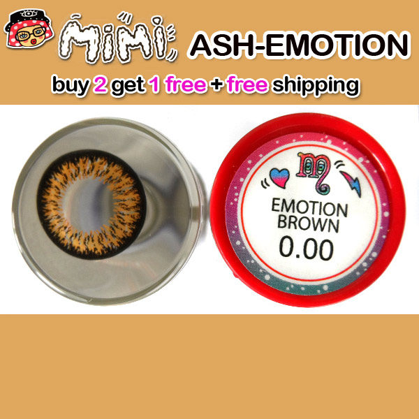 MIMI EMOTION BROWN CONTACT LENS