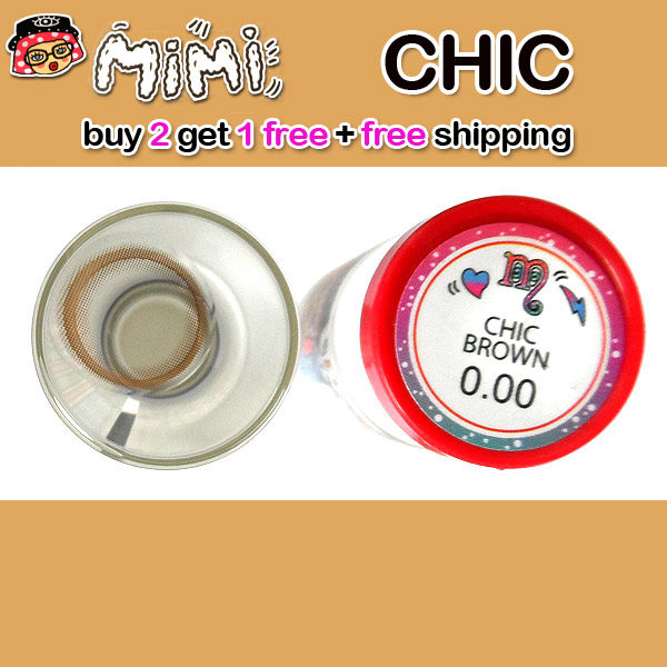 MIMI CHIC BROWN CONTACT LENS