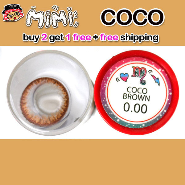 MIMI COCO BROWN CONTACT LENS