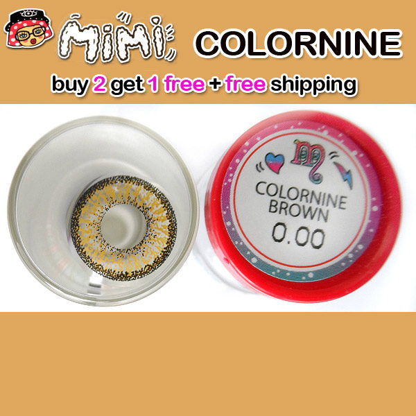 MIMI COLORNINE BROWN CONTACT LENS
