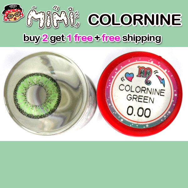 MIMI COLORNINE GREEN CONTACT LENS