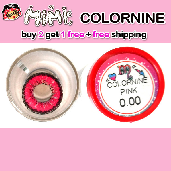 MIMI COLORNINE PINK CONTACT LENS
