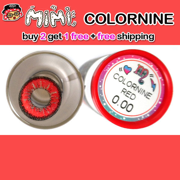 MIMI COLORNINE RED CONTACT LENS